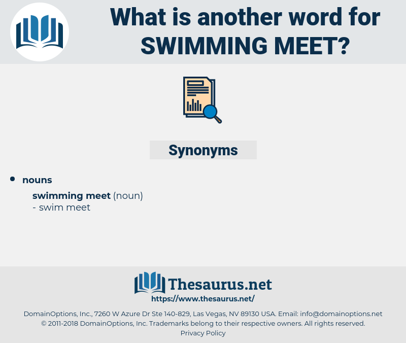 swimming meet, synonym swimming meet, another word for swimming meet, words like swimming meet, thesaurus swimming meet