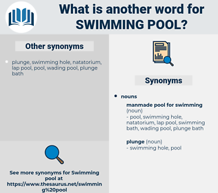 swimming pool, synonym swimming pool, another word for swimming pool, words like swimming pool, thesaurus swimming pool