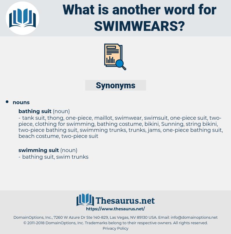 swimwears, synonym swimwears, another word for swimwears, words like swimwears, thesaurus swimwears
