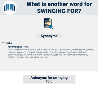 swinging for, synonym swinging for, another word for swinging for, words like swinging for, thesaurus swinging for