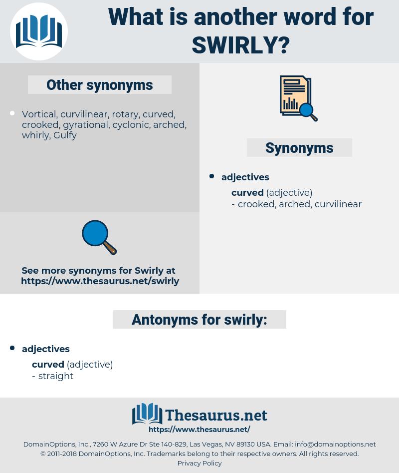 swirly, synonym swirly, another word for swirly, words like swirly, thesaurus swirly