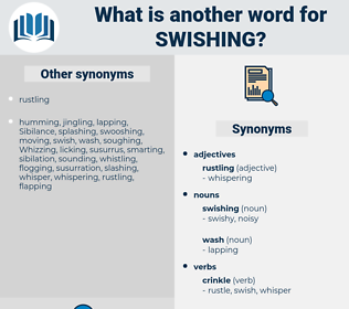 swishing, synonym swishing, another word for swishing, words like swishing, thesaurus swishing