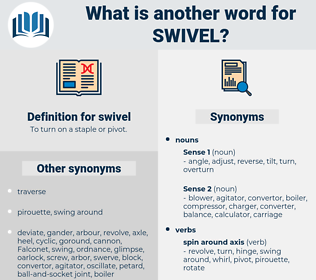 swivel, synonym swivel, another word for swivel, words like swivel, thesaurus swivel