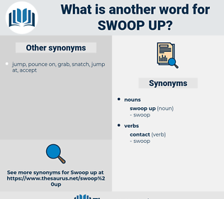 swoop up, synonym swoop up, another word for swoop up, words like swoop up, thesaurus swoop up