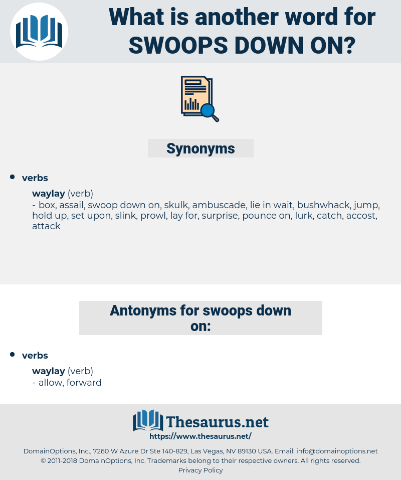 swoops down on, synonym swoops down on, another word for swoops down on, words like swoops down on, thesaurus swoops down on