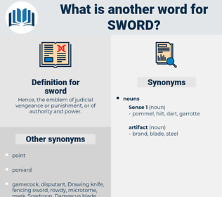 sword, synonym sword, another word for sword, words like sword, thesaurus sword