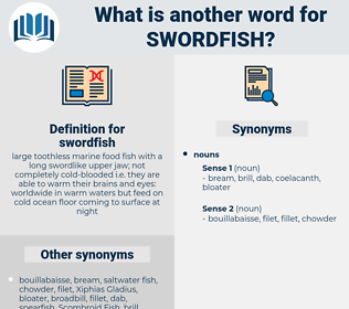 swordfish, synonym swordfish, another word for swordfish, words like swordfish, thesaurus swordfish
