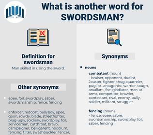 swordsman, synonym swordsman, another word for swordsman, words like swordsman, thesaurus swordsman
