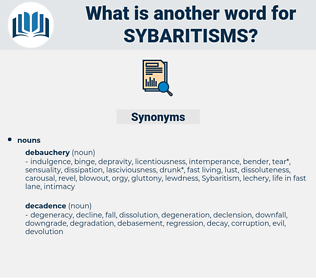 sybaritisms, synonym sybaritisms, another word for sybaritisms, words like sybaritisms, thesaurus sybaritisms