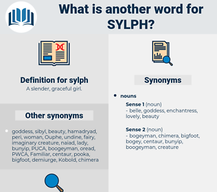 sylph, synonym sylph, another word for sylph, words like sylph, thesaurus sylph