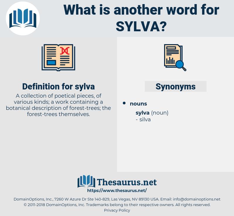 sylva, synonym sylva, another word for sylva, words like sylva, thesaurus sylva