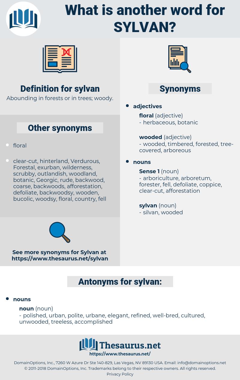 sylvan, synonym sylvan, another word for sylvan, words like sylvan, thesaurus sylvan