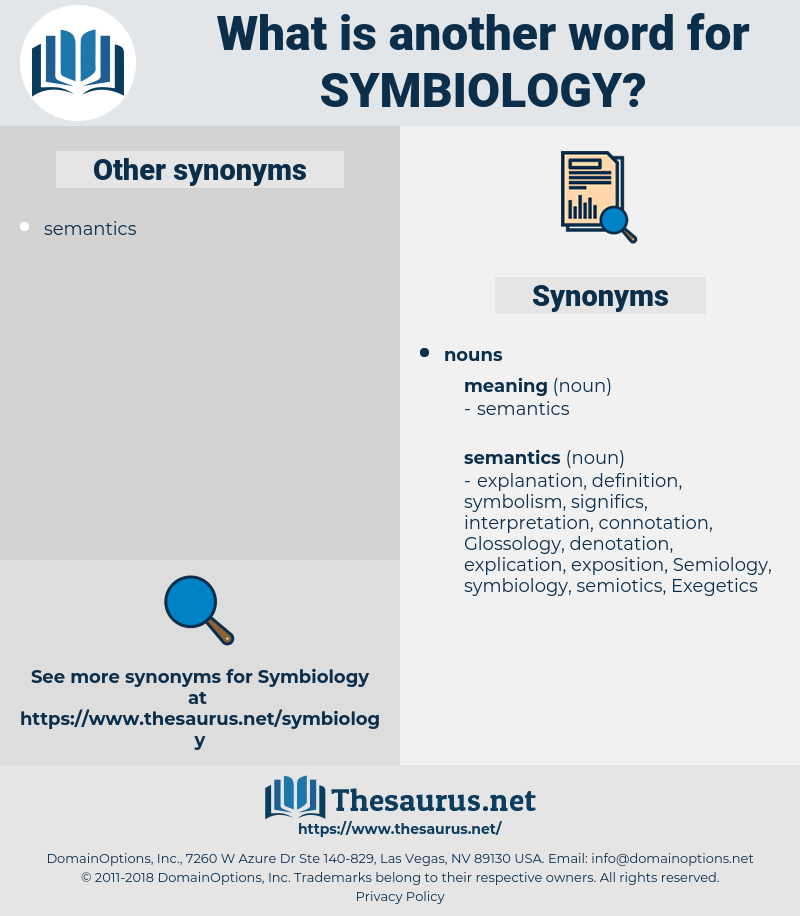 symbiology, synonym symbiology, another word for symbiology, words like symbiology, thesaurus symbiology