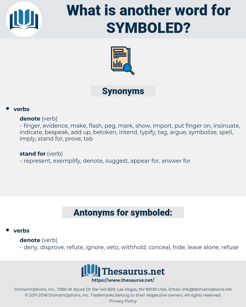symboled, synonym symboled, another word for symboled, words like symboled, thesaurus symboled