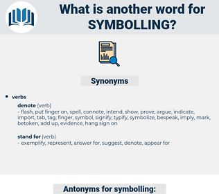 symbolling, synonym symbolling, another word for symbolling, words like symbolling, thesaurus symbolling