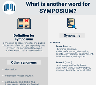 symposium, synonym symposium, another word for symposium, words like symposium, thesaurus symposium