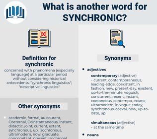 synchronic, synonym synchronic, another word for synchronic, words like synchronic, thesaurus synchronic