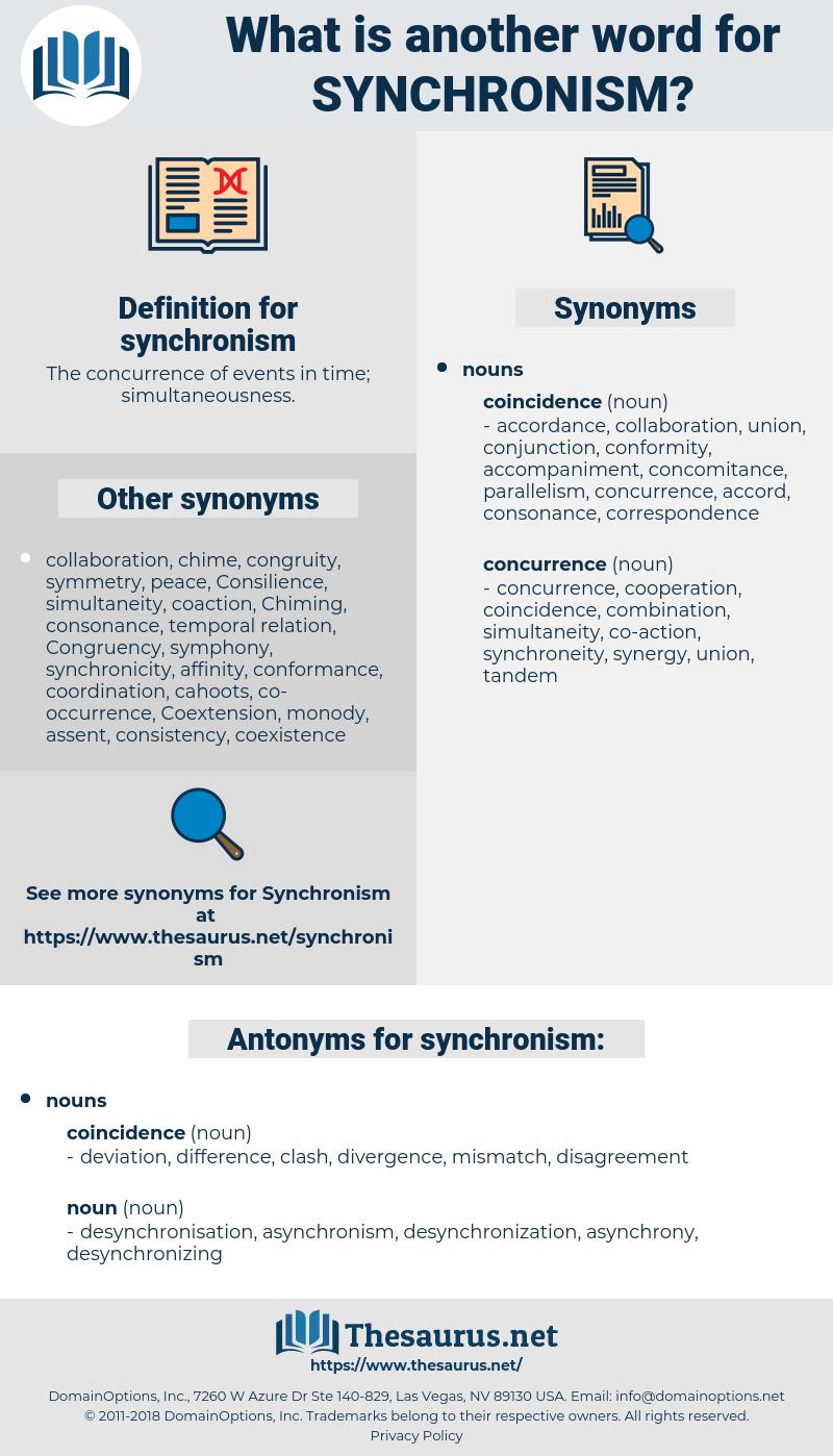 synchronism, synonym synchronism, another word for synchronism, words like synchronism, thesaurus synchronism
