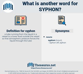 syphon, synonym syphon, another word for syphon, words like syphon, thesaurus syphon