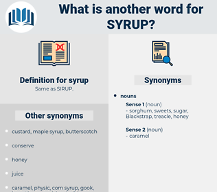 syrup, synonym syrup, another word for syrup, words like syrup, thesaurus syrup