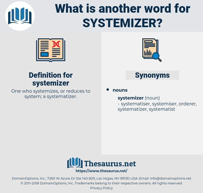 systemizer, synonym systemizer, another word for systemizer, words like systemizer, thesaurus systemizer