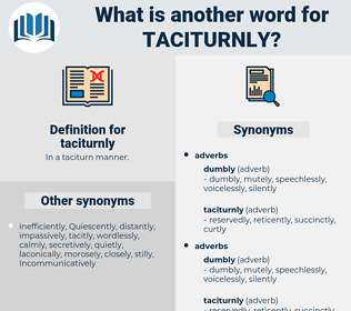 taciturnly, synonym taciturnly, another word for taciturnly, words like taciturnly, thesaurus taciturnly