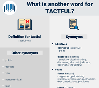 tactful, synonym tactful, another word for tactful, words like tactful, thesaurus tactful