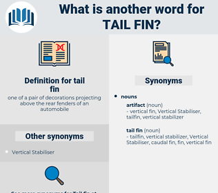 tail fin, synonym tail fin, another word for tail fin, words like tail fin, thesaurus tail fin