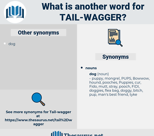 tail-wagger, synonym tail-wagger, another word for tail-wagger, words like tail-wagger, thesaurus tail-wagger