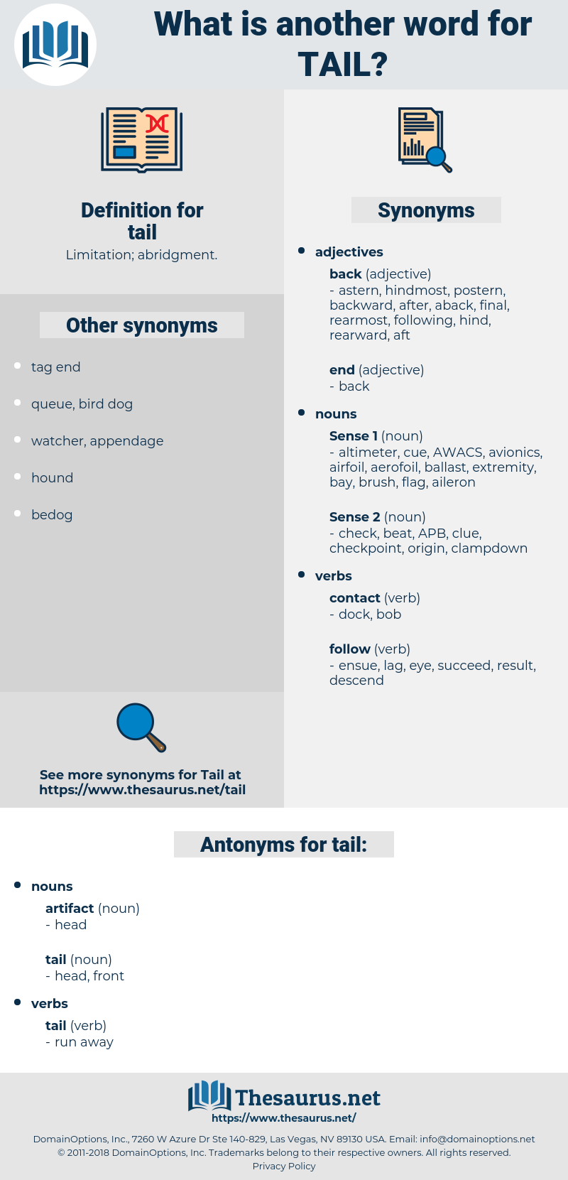 tail, synonym tail, another word for tail, words like tail, thesaurus tail