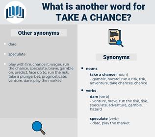 take a chance, synonym take a chance, another word for take a chance, words like take a chance, thesaurus take a chance