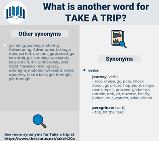 take a trip, synonym take a trip, another word for take a trip, words like take a trip, thesaurus take a trip
