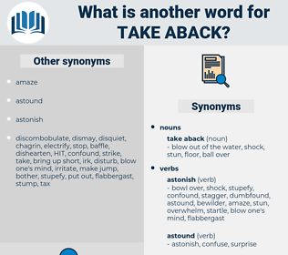take aback, synonym take aback, another word for take aback, words like take aback, thesaurus take aback