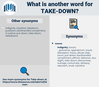 take down, synonym take down, another word for take down, words like take down, thesaurus take down