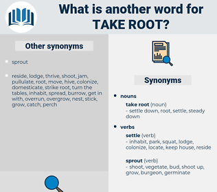 take root, synonym take root, another word for take root, words like take root, thesaurus take root
