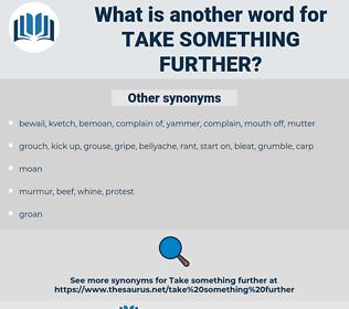 take something further, synonym take something further, another word for take something further, words like take something further, thesaurus take something further