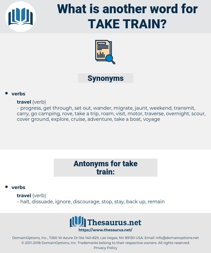take train, synonym take train, another word for take train, words like take train, thesaurus take train