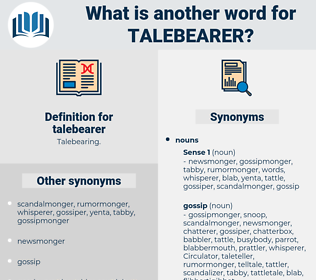 talebearer, synonym talebearer, another word for talebearer, words like talebearer, thesaurus talebearer
