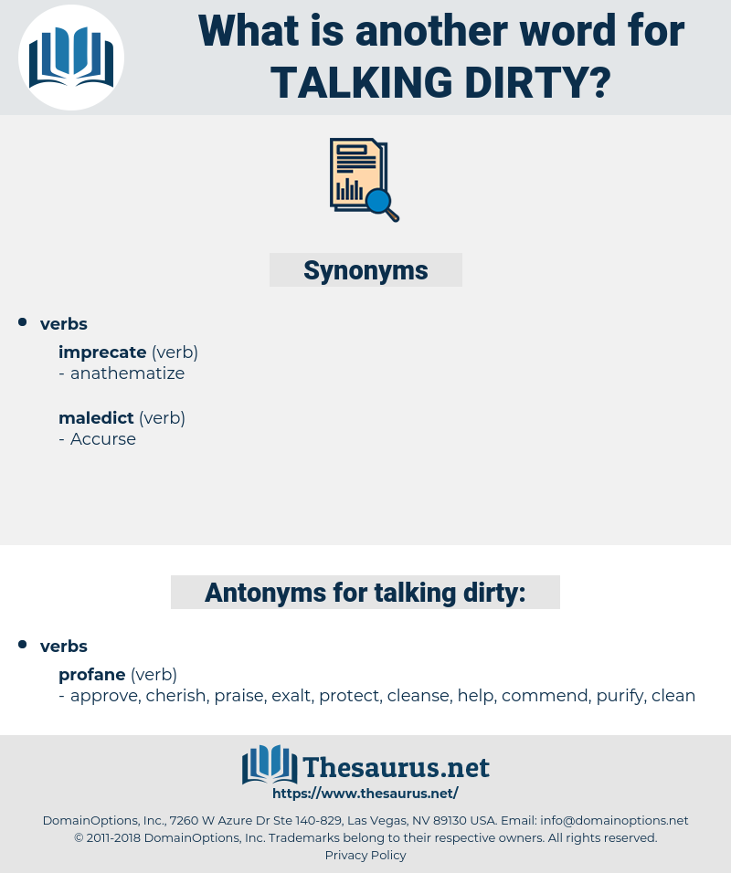 talking dirty, synonym talking dirty, another word for talking dirty, words like talking dirty, thesaurus talking dirty