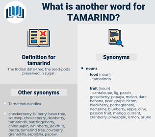 tamarind, synonym tamarind, another word for tamarind, words like tamarind, thesaurus tamarind