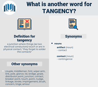 tangency, synonym tangency, another word for tangency, words like tangency, thesaurus tangency
