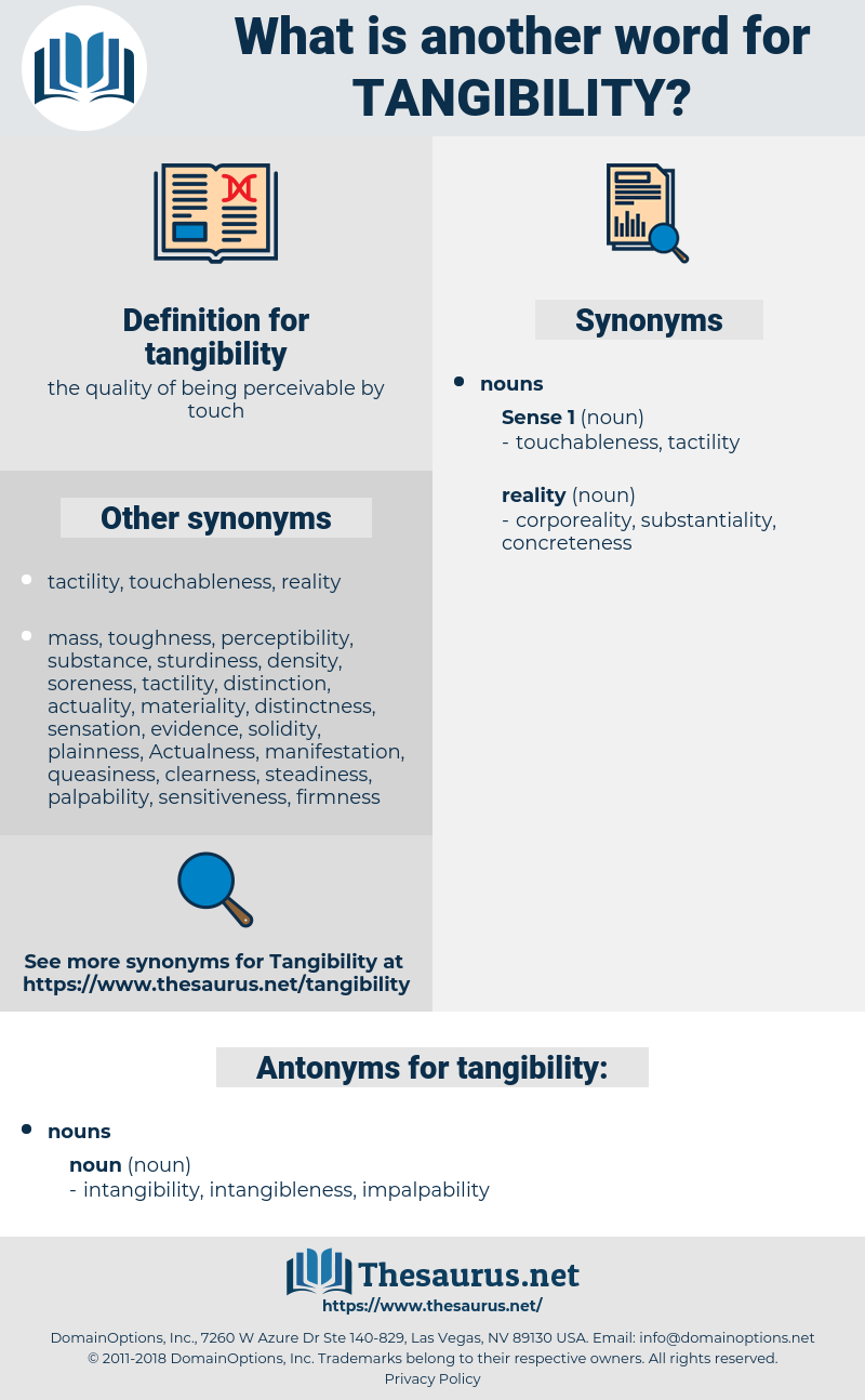 tangibility, synonym tangibility, another word for tangibility, words like tangibility, thesaurus tangibility