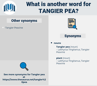 tangier pea, synonym tangier pea, another word for tangier pea, words like tangier pea, thesaurus tangier pea