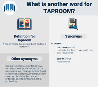 taproom, synonym taproom, another word for taproom, words like taproom, thesaurus taproom