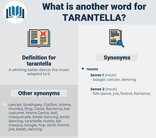 tarantella, synonym tarantella, another word for tarantella, words like tarantella, thesaurus tarantella