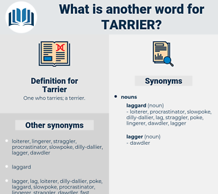 Tarrier, synonym Tarrier, another word for Tarrier, words like Tarrier, thesaurus Tarrier
