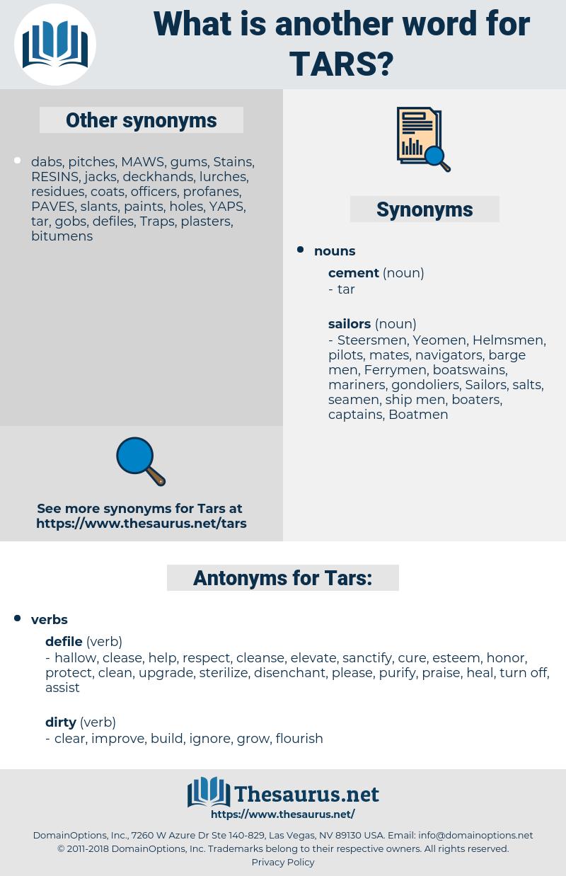 Tars, synonym Tars, another word for Tars, words like Tars, thesaurus Tars