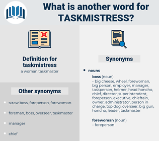 taskmistress, synonym taskmistress, another word for taskmistress, words like taskmistress, thesaurus taskmistress