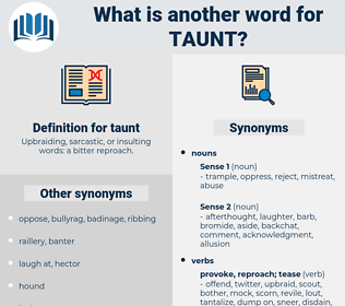 taunt, synonym taunt, another word for taunt, words like taunt, thesaurus taunt