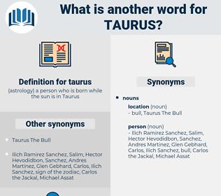 taurus, synonym taurus, another word for taurus, words like taurus, thesaurus taurus